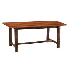 <strong>Fireside Lodge</strong> Reclaimed Barnwood Harvest Dining Table