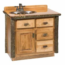 "Hickory 42"" Vanity Set"
