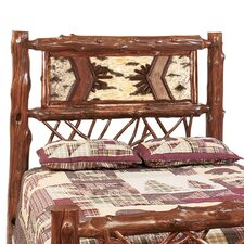 <strong>Fireside Lodge</strong> Adirondack Twig Headboard