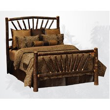 <strong>Fireside Lodge</strong> Hickory Slat Bed