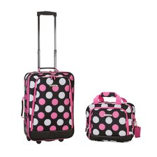 2 Piece Carry On Luggage Set