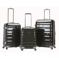 Atlantis 3 Piece Polycarbonate/ABS Luggage Set