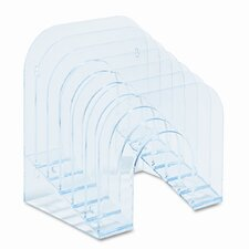 6-Tier Jumbo Incline Sorter, Plastic