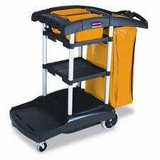 "Commercial High Capacity 39"" Cleaning Cart"