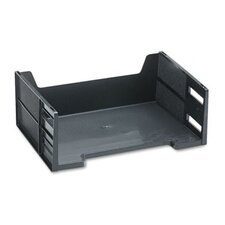 <strong>Rubbermaid</strong> Stackable High-Capacity Side Load Letter Tray