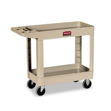 "Commercial Heavy-Duty Utility Cart, 17-7/8"" Wide"