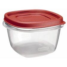 2 Cup Square Easy Find Container with Lid