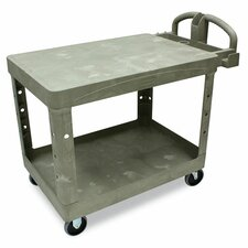 "26"" Commercial Flat Shelf Utility Cart"
