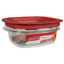 1.25 Cup Premier Square Food Storage Container