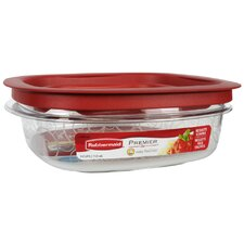 <strong>Rubbermaid</strong> 3 Cup Premier Square Food Storage Container