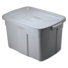 <strong>Rubbermaid</strong> Roughneck Storage Box in Steel Gray