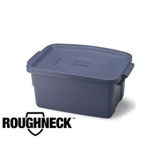 <strong>Rubbermaid</strong> 3 Gallon Roughneck Storage Box in Steel Gray
