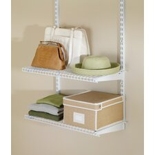 Configurations Closet Shelf Kit