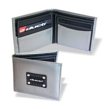 <strong>Ducti</strong> Hybrid Vault Wallet with Change Pouch in Silver