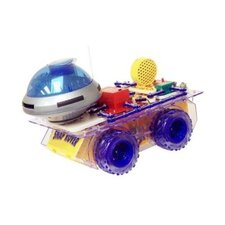 Elenco Electronics Snap Circuits Deluxe Snap Rover Toy Game