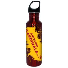 NFL 26 Oz Stainless Steel Water Bottle