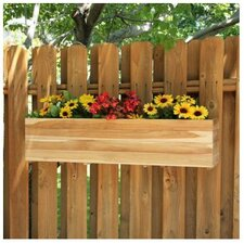 "<strong>Diamond Teak</strong> 10.5"" Rectangular Window Box Planter"