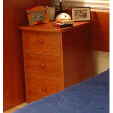 <strong>Berg Furniture</strong> Utica Loft Three Drawer Narrow Chest