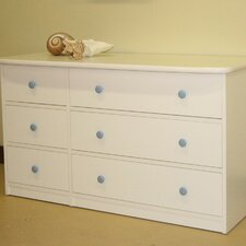 Sierra Double 6 Drawer Dresser