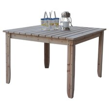<strong>Shine Company Inc.</strong> Dome Large Captiva Square Dining Table