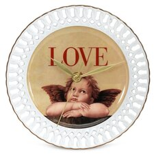 "<strong>PS Collection</strong> Love Cupid 8"" Wall Clock"