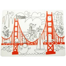 Fun on the Golden Gate Placemat