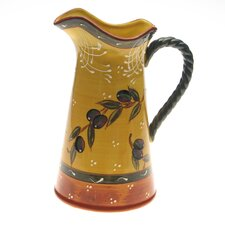 French Olives Pitcher