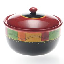 <strong>Certified International</strong> Caliente by Joy Hall Bean Pot