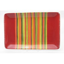 "<strong>Certified International</strong> Hot Tamale 19.5"" Rectangular Platter"