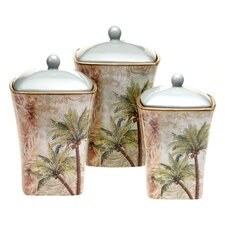 Key West 3 Piece Canister Set