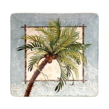 "Key West 12.5"" Square Platter"
