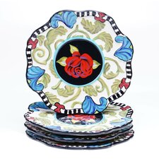 "Classic Rose 8.5"" Salad Plate (Set of 4)"