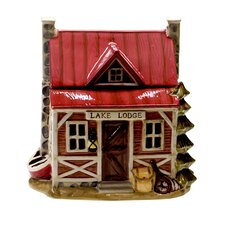 Lakeside Lodge 3-D Cookie Jar