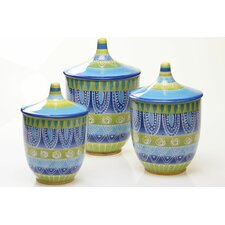 Tapas 3 Piece Canister Set