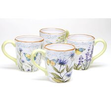 Herb Garden 18 oz. Mug (Set of 4)