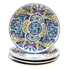 "Mood Indigo 10.75"" Dinner Plate (Set of 4)"