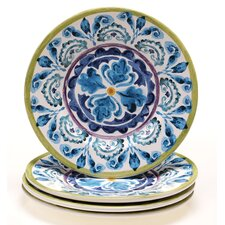 "Mood Indigo 8.75"" Salad Plate (Set of 4)"