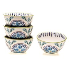 "Mood Indigo 5.75"" Ice Cream Bowl (Set of 4)"