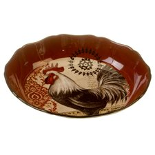 "Fancy Rooster 13"" Serving Pasta Bowl"
