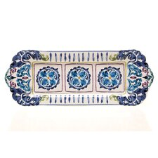 "Mood Indigo 16.25"" Rectangular Platter"