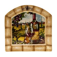 "Tuscan View 13"" Arched Platter"