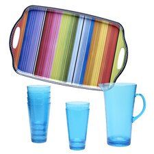 Serape 8 Piece Beverage Set
