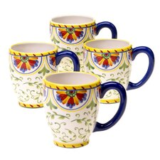 Amalfi 18 oz. Mug (Set of 4)