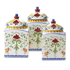 Amalfi 3 Piece Canister Set