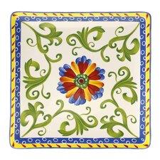 "Amalfi 14.5"" Square Platter"