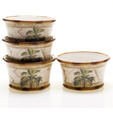 Las Palmas Ice Cream Bowl (Set of 4)
