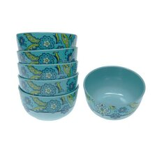 "Capri Blue by Jennifer Brinley 5.75"" Bowl (Set of 6)"