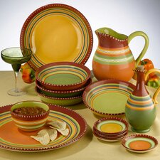 <strong>Certified International</strong> Hot Tamale Dinnerware Set