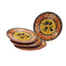"French Olives 8.75"" Salad PlateSet of 4)"