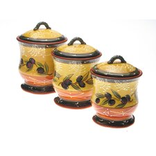 <strong>Certified International</strong> French Olives Canister (Set of 3)